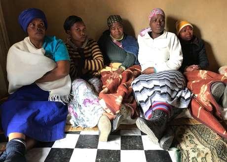 Parentes de Zanele Hlatshwayo