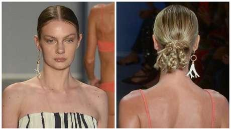 Desfile Vix: Make e cabelo(Fotos: Francisco Cepeda/AgNews)