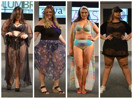 Desfiles do Fashion Weekend Plus Size (Fotos: Adriana Líbini/Divulgação)
