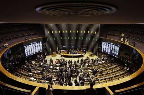 Plenário da Câmara dos Deputados, em Brasília 03/12/2014 REUTERS/Ueslei Marcelino