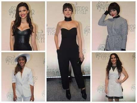 """Looks das atrizes de """"Tempo de Amar"""" (Fotos: AgNews)"""