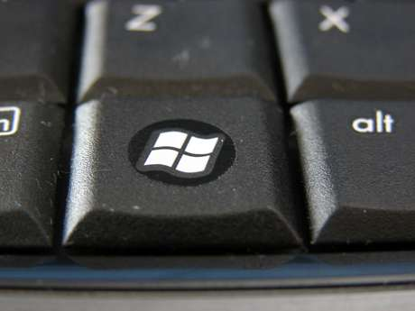 A tecla Windows fica entre as teclas Ctrl e Alt
