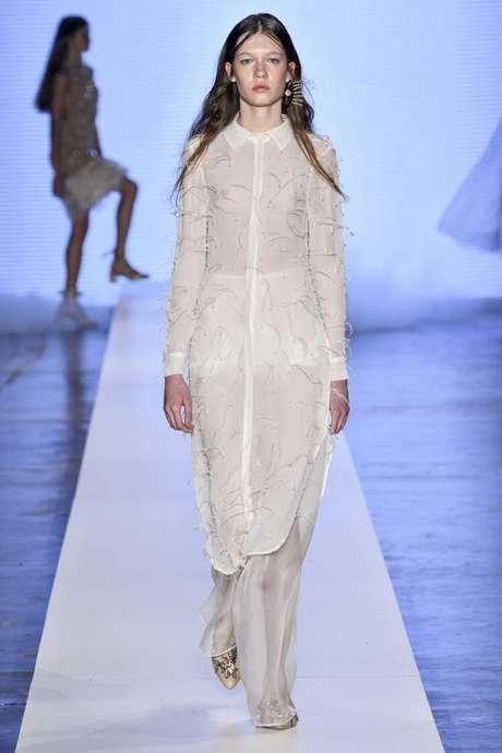 Desfile da estilista Fabiana Milani