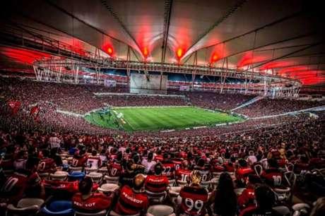 Todos os ingressos disponíveis para os torcedores do Flamengo estão esgotados (Foto: Divulgação/Flamengo)