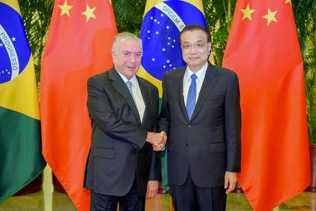 Brasil e China assinam acordos em temas variados