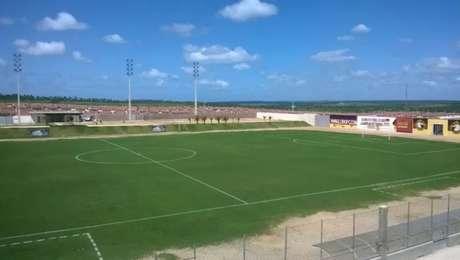 O Estádio Barretão será palco do jogo de ida da final da Série D, entre Globo e Operário (Foto: Osmar Rios)