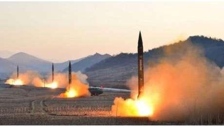 País realizou uma série de testes com mísseis nos últimos meses