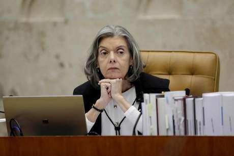 Cármen Lúcia durante sessão do STF em Brasília  22/6/2017    REUTERS/Ueslei Marcelino