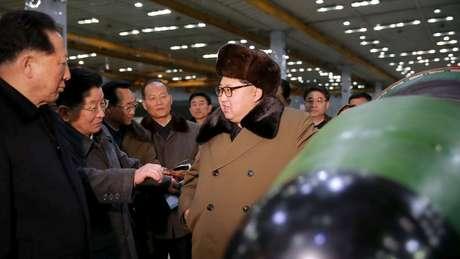 Desde 2006 a Coreia do Norte tem feito testes nucleares