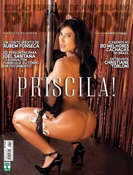 Playboy divulga capa da edição com Priscila Pires
