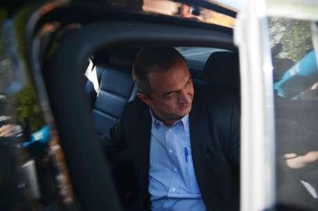 Empresário Joesley Batista, dono da JBS, deixa a sede da Superintendência da Polícia Federal após prestar depoimento