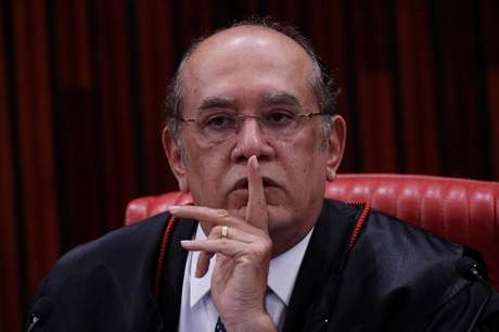 Ministro Gilmar Mendes, do Supremo Tribunal Federal (STF), em Brasília