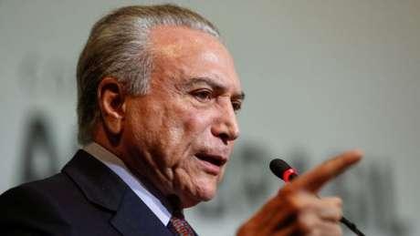O presidente Michel Temer é beneficiado pela reviravolta na delação da JBS