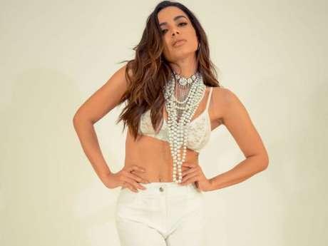 Anitta atualmente namora o empresário Thiago Magalhães