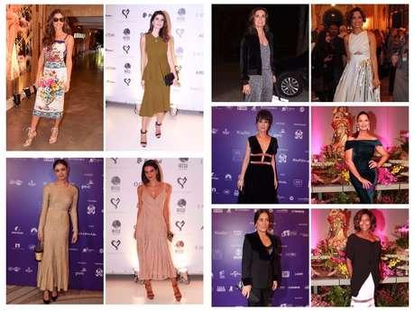 Looks das famosas na semana (Fotos: AgNews)