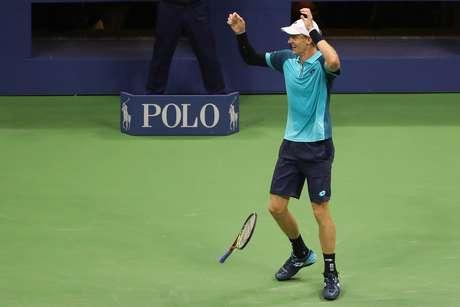 Aos 31 anos, Anderson chegou à sua primeira final de Grand Slam da carreira.