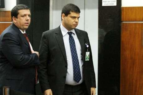 O ex procurador da República Marcello Miller chega para prestar depoimento na Procuradoria Regional da República (2ª Região), no centro do Rio de Janeiro