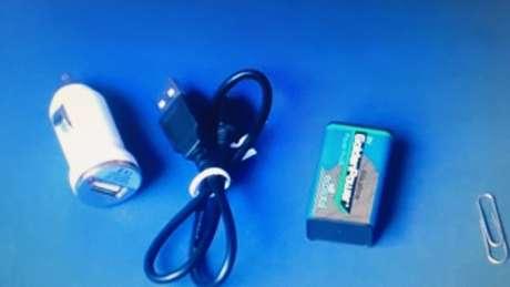 Itens para carregar celular sem eletricidade