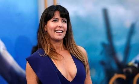 """Diretora Patty Jenkins em lançamento de """"Mulher-Maravilha"""" em Los Angeles  25/5/2017   REUTERS/Mario Anzuoni"""