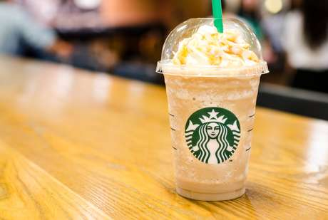 Na compra de um frappuccino, o segundo sai de graça no mesmo tamanho