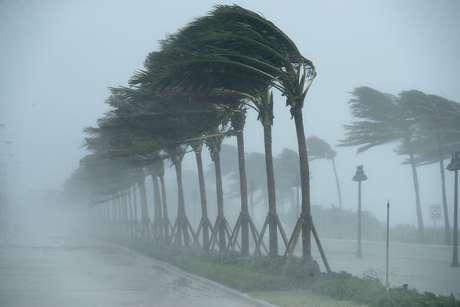 Mesmo rebaixado de nível, o furacão Irma causou estrago em cidades da Flórida com ventos de até 136 km/h na madrugada desta segunda-feira