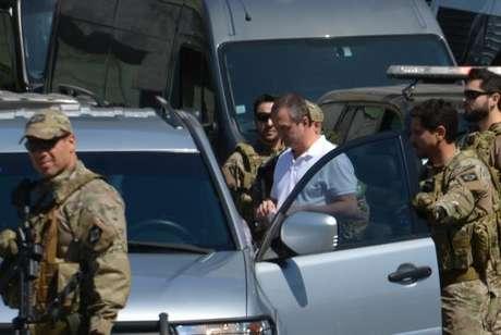 Saída dos empresários Joesley Batista e Ricardo Saud da Superintendência da Polícia Federal em SP