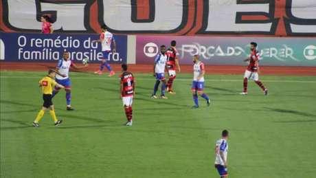 Atlético-GO e Bahia empataram em 1 a 1 na última segunda-feira - Divulgação