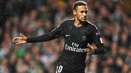 Neymar abriu o placar para o PSG (Foto: AFP)