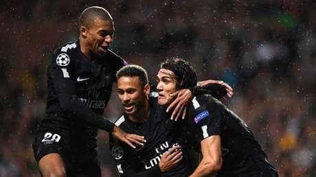 Mbapeé, Neymar e Cavani: o trio que promete assombrar a Europa (Foto: AFP)