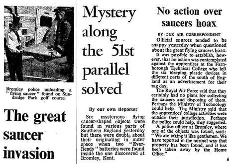 Jornais acompanharam o caso com grande interesse e revelaram a 'pegadinha' depois que baterias foram encontradas em um deles (Foto The Times News Syndication / Guardian News & Media)