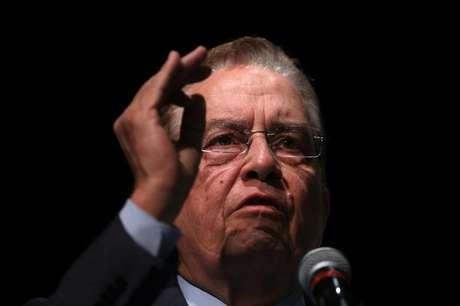 Presidente do BNDES, Paulo Rabello de Castro, fala durante cerimônia no Rio de Janeiro, Brasil