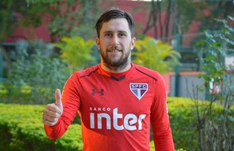 O argentino Jonatan Gomez pode ganhar uma chance no time (Foto: Érico Leonan/saopaulofc.net)