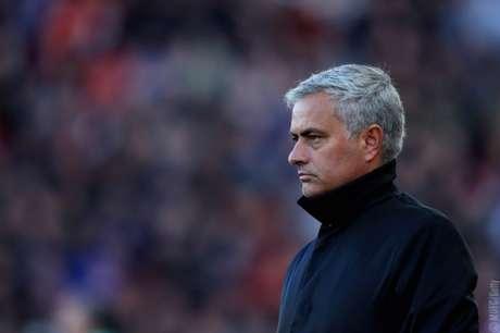 Mourinho não aprovou futebol do United (Foto: Divulgação)
