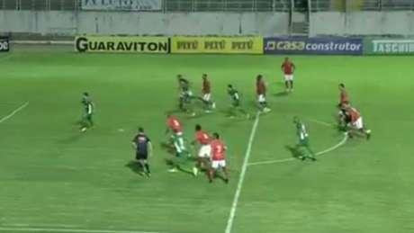 Boa Esporte e Guarani lutam e empatam em Varginha - Frame/Sportv