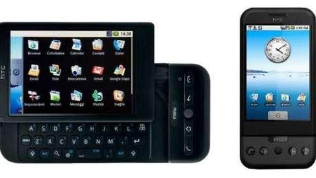 O telefone Android original não apresentava recursos multitoque | Foto: HTC