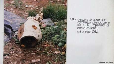 Imagens históricas mostram cápsula com material radioativo que causou o desastre