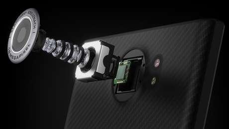 câmera de smartphone