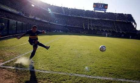 Estádio La Bombonera, em Buenos Aires 18/07/2015 REUTERS/Marcos Brindicci