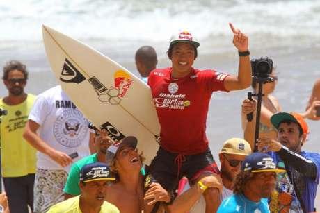 Kanoa Igarashi segue vivo na etapa de Trestles (Foto: DIvulgação/WSL)