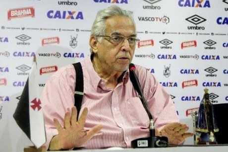 Eurico Miranda vai tentar a reeleição no Vasco no pleito de novembro (Foto: Paulo Fernandes/Vasco.com.br)