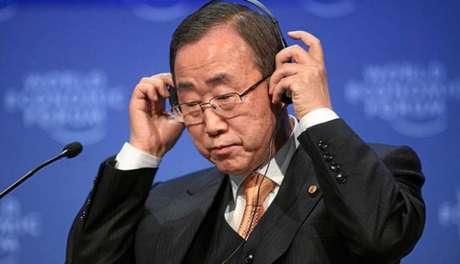 Ban Ki-moon cumpriu dois mandatos sucessivos na ONU (2007 a 2016) Foto: Divulgação/World Economic Forum