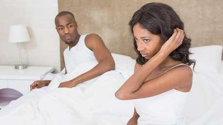Relacionamentos mais longos que um ano foram um fator na falta de interesse das mulheres no sexo
