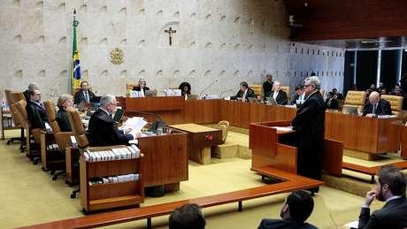 Corte deixou para a próxima semana análise sobre uso da delação da JBS em acusação contra Temer   Foto: Carlos Moura/SCO/STF