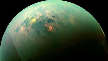 Titã, a maior lua de Saturno. Foto: NASA/JPL-Caltech/Space Science Institute