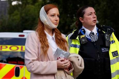 Passageira ficou ferida no rosto com a explosão dentro de um metrô em Londres