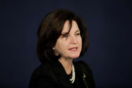 Nova procuradora-geral da República, Raquel Dodge, durante evento de posse, em Brasília