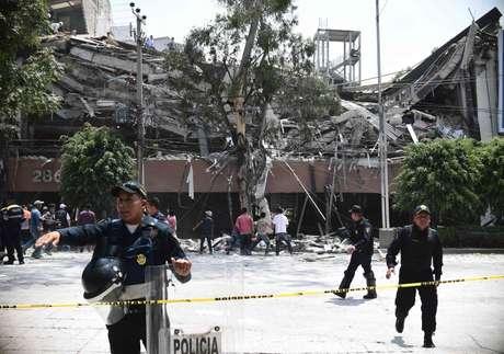 Edificio caído