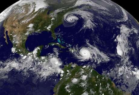 O furacão Maria teve ventos de 260 km/h