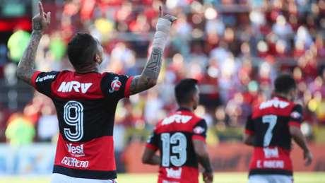 Flamengo conta com os gols de Guerrero para sair com a vaga da Ilha do Urubu (Gilvan de Souza / Flamengo)