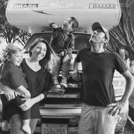 Ana Cristina Torres estava viajando com a família no México quando houve o tremor   Foto: Arquivo pessoal